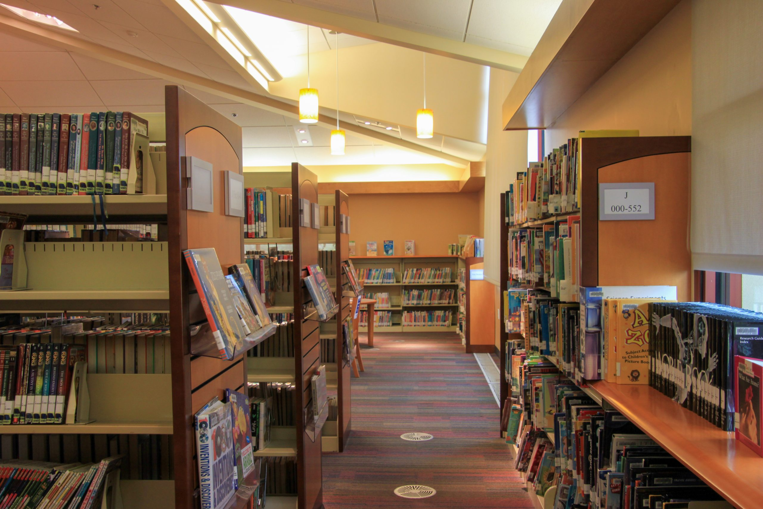 The Children's Library In Fairfield Cordelia Library.