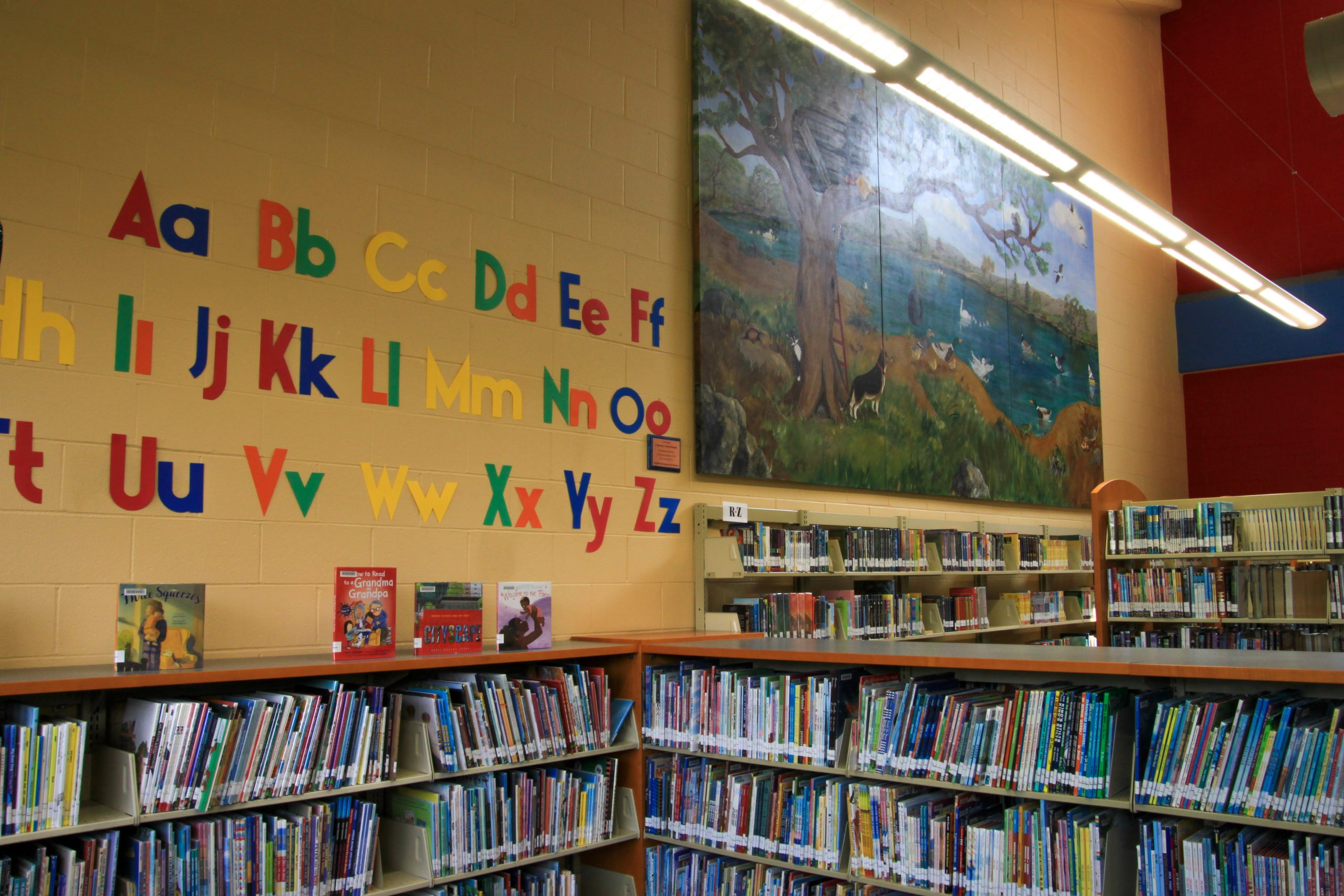 Children's Library At Fairfield Civic Center Library.