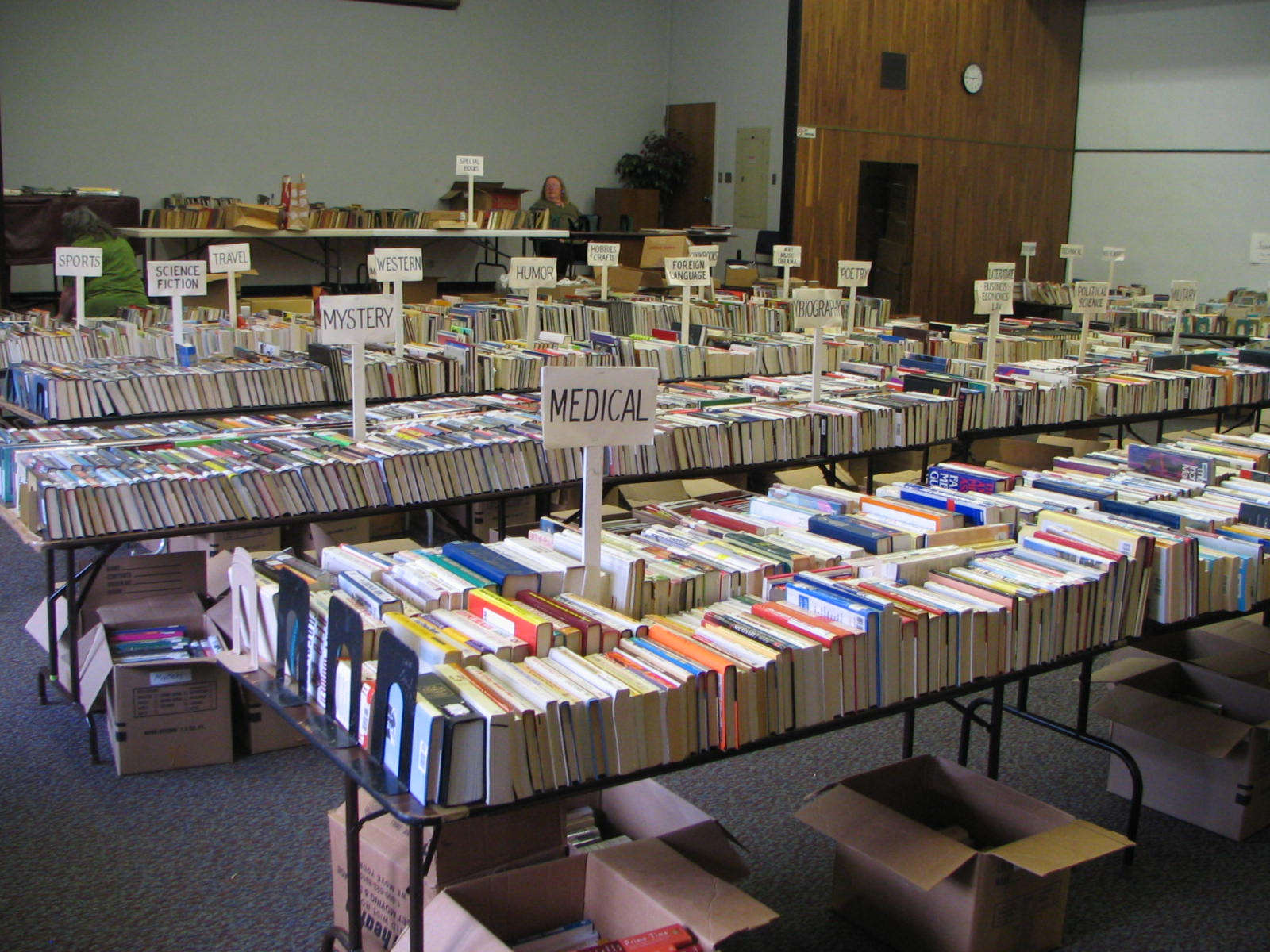 Books For Sale, Courtesy Of The Friends Of The Vallejo Libraries.