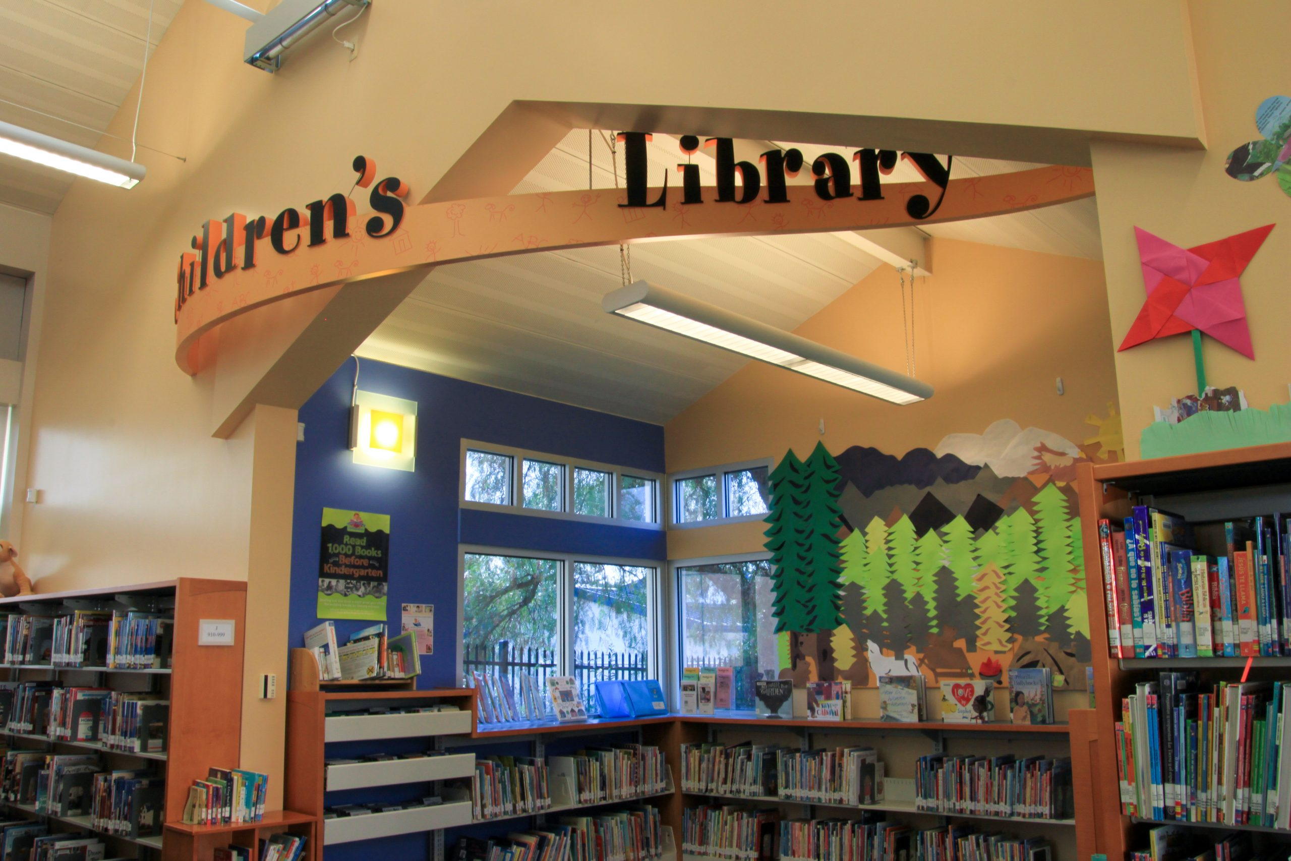 The Children's Library In Suisun City Library.