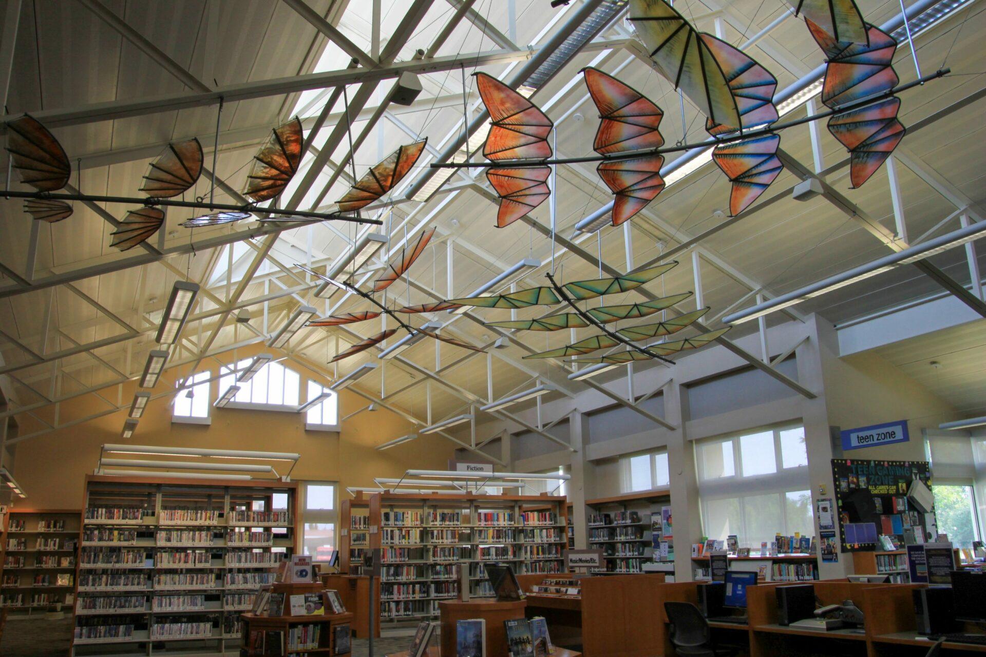 Art Installation In Suisun City Library.