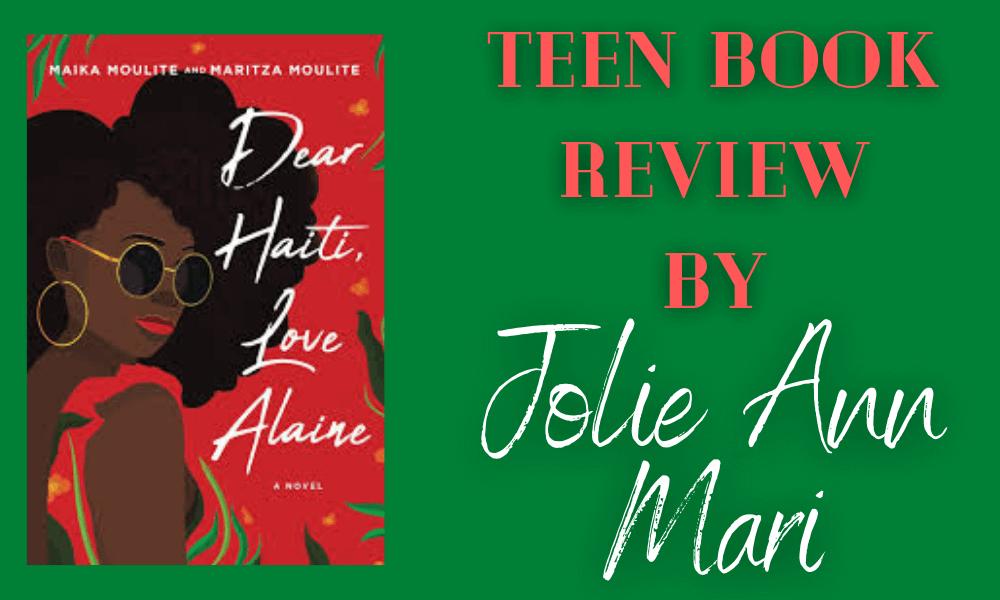 Teen Book Review Jolie Ann Mari