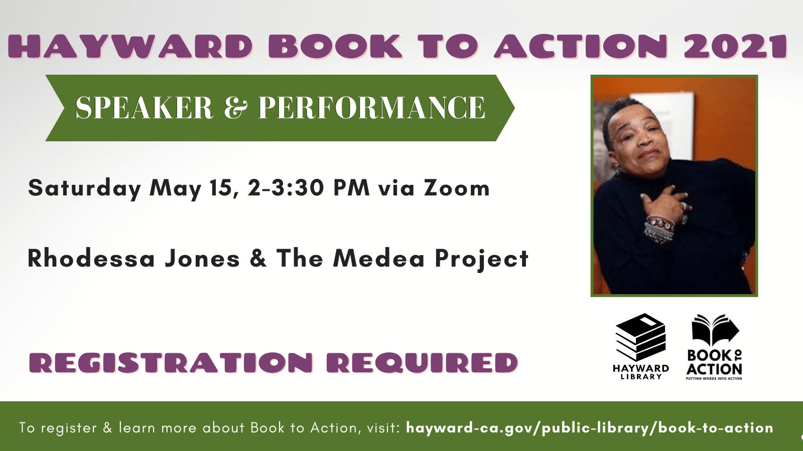 Rhodessa Jones Book To Action