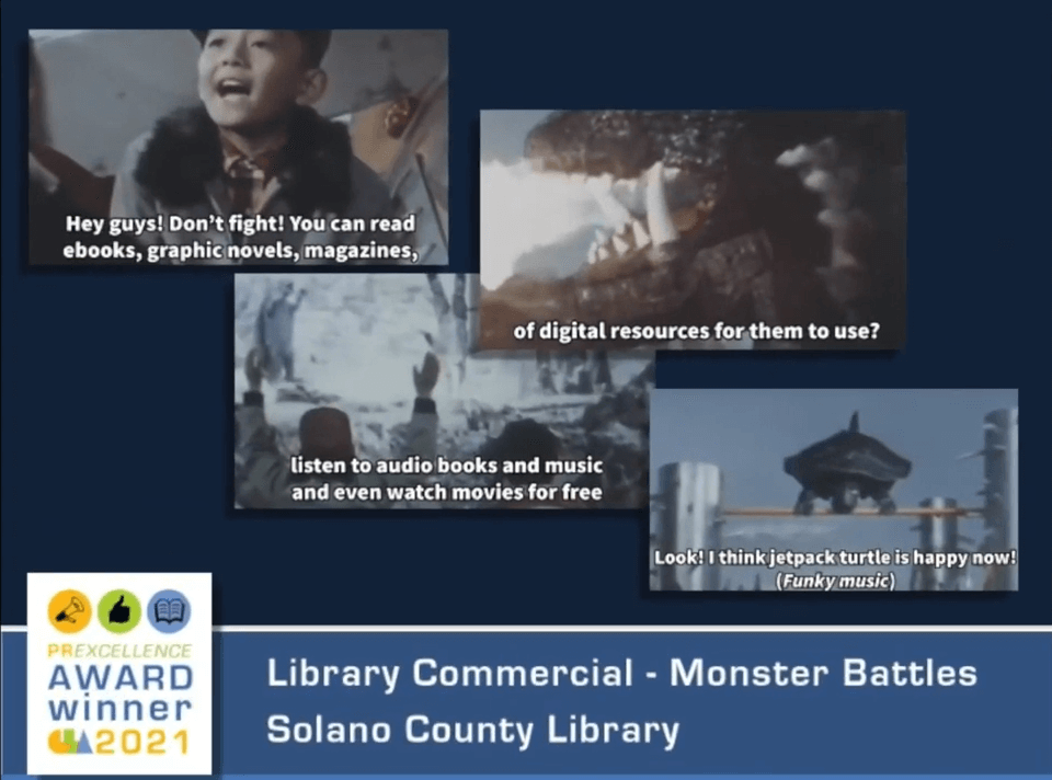 Solano County Library - PRExcellence Award Winner 2021
