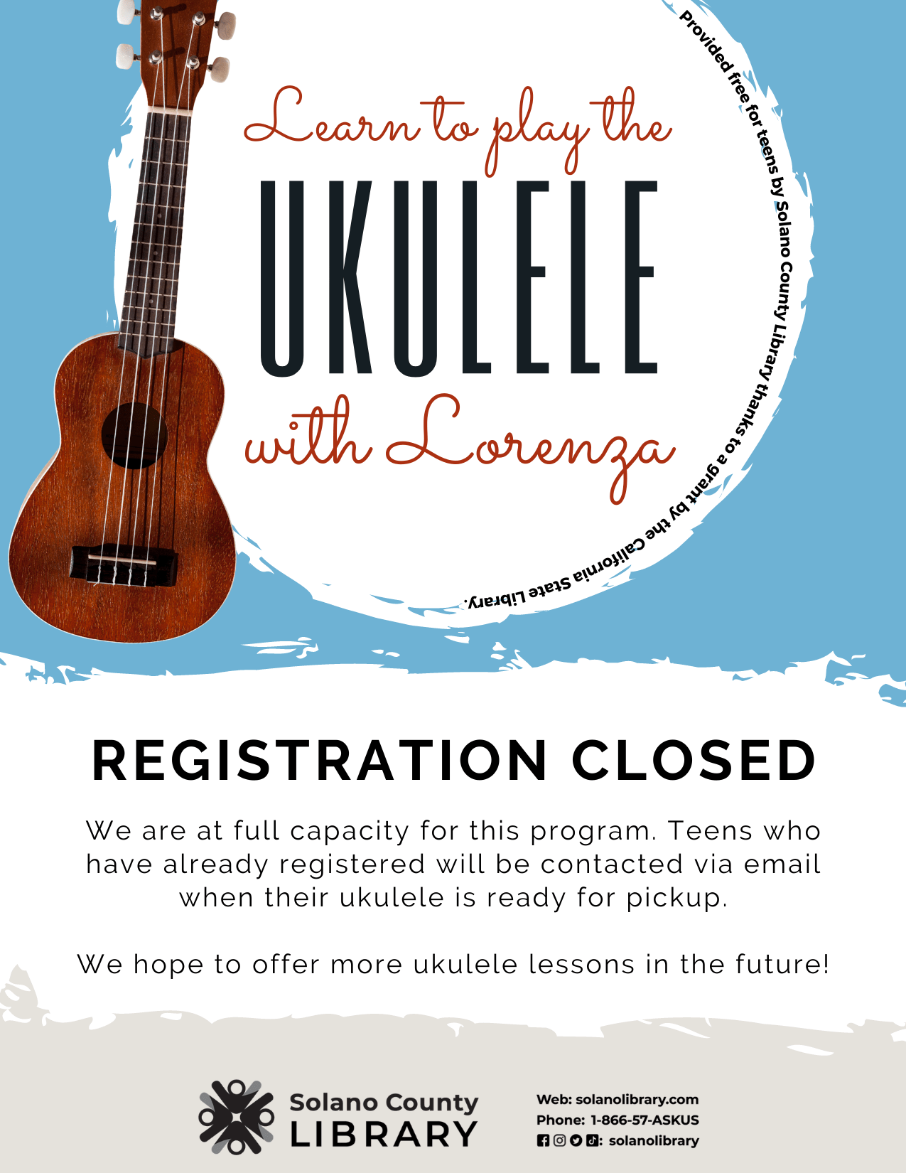 Ukulele Class Full