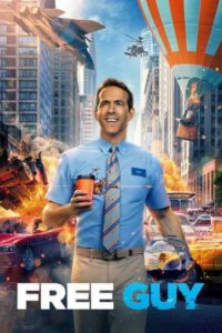 Free Guy Moviefone DVD Poster