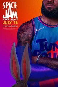Space Jam: A New Legacy Moviefone DVD Poster